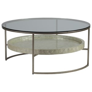 Round  41 Inch Cocktail Table