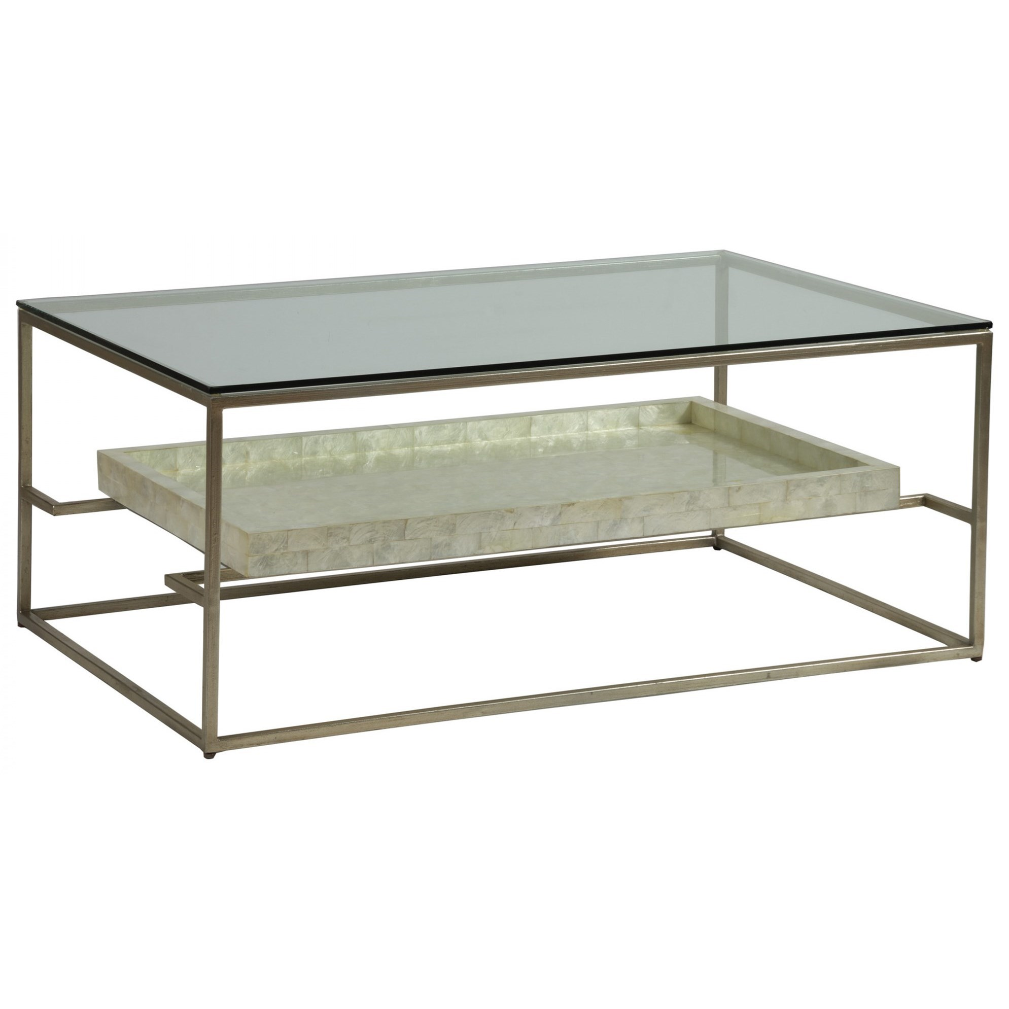 Cumulus Rectangular 45 Inch Cocktail Table by Artistica at Baer's Furniture