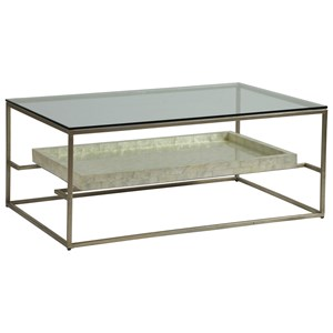 Rectangular 45 Inch Cocktail Table