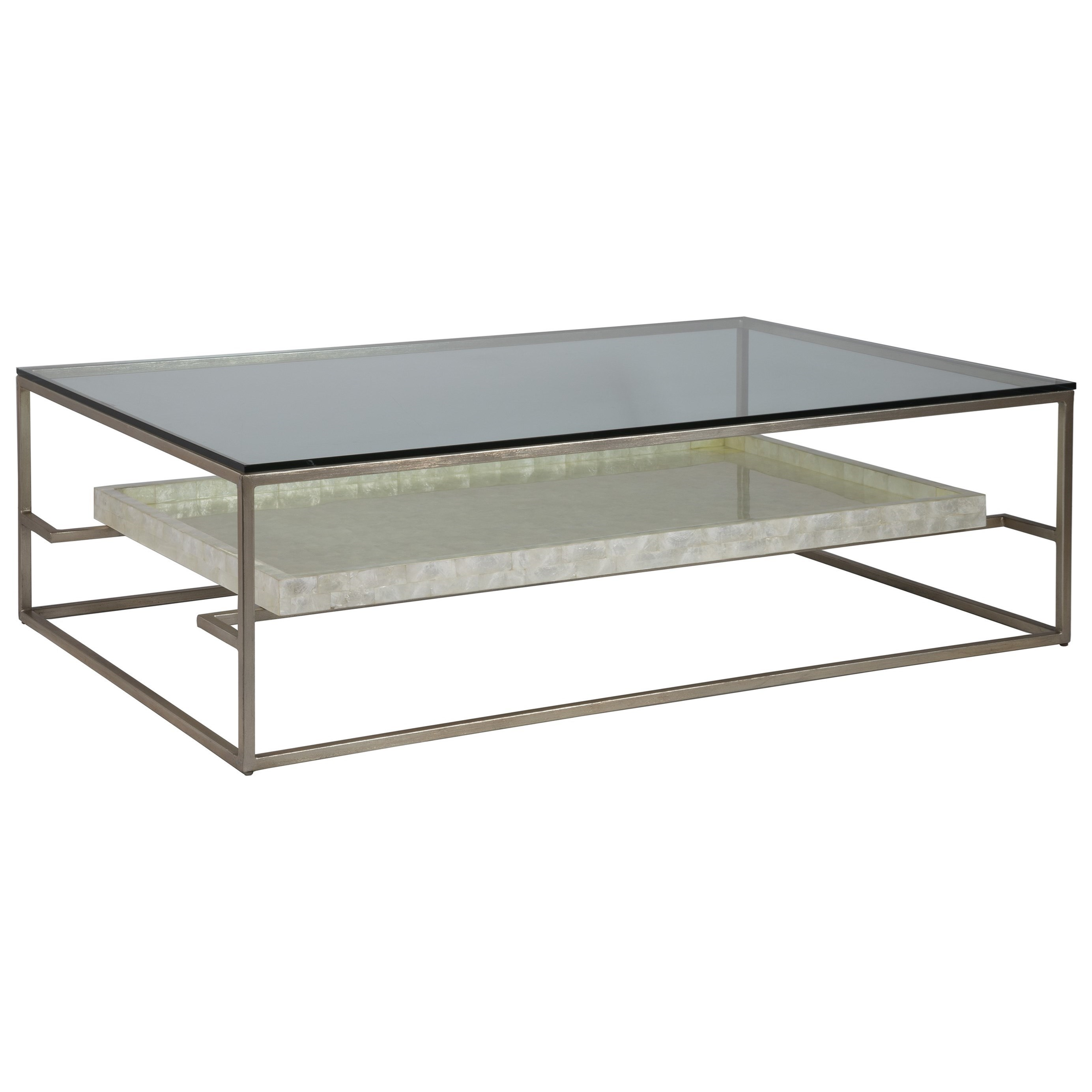 Cumulus Rectangular 60 Inch Cocktail Table by Artistica at Baer's Furniture