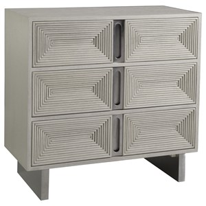 Contemporary 3-Drawer Hall Chest