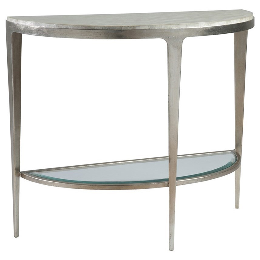 Gravitas Console Table by Artistica at Baer's Furniture