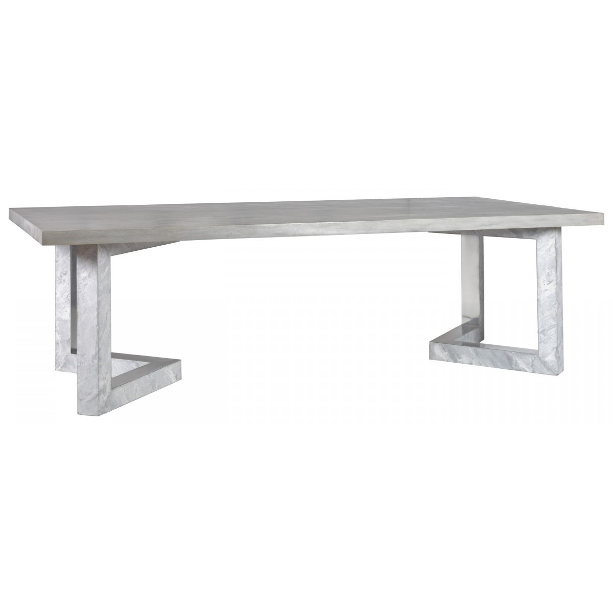 Heller Rectangular Dining Table by Artistica at Baer's Furniture