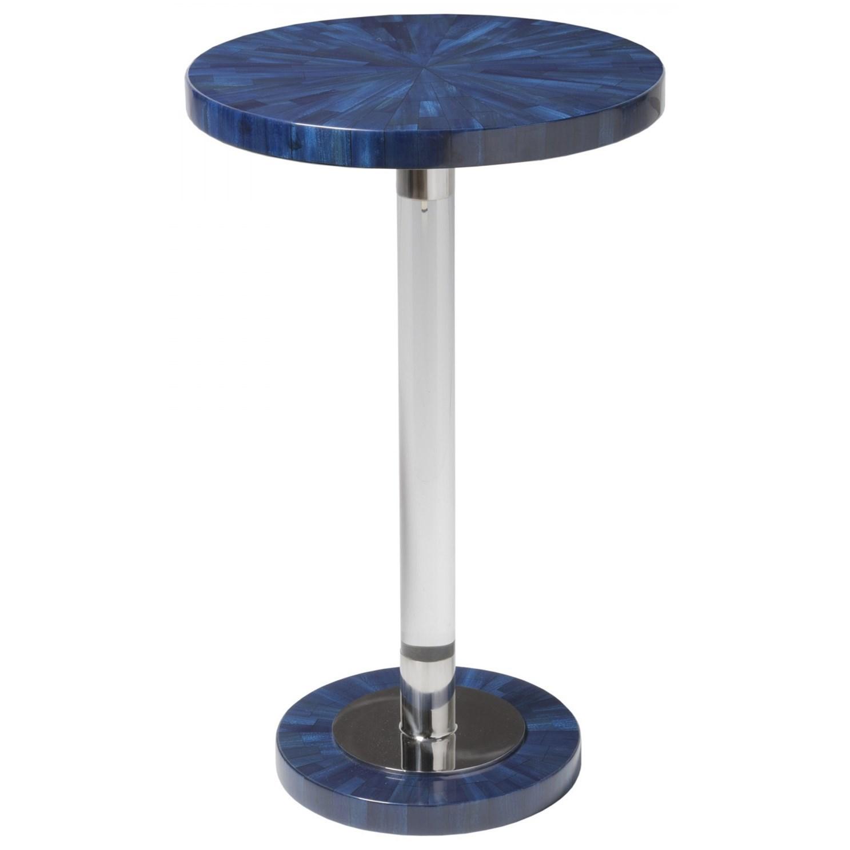 Invicta Round Spot Table by Artistica at Baer's Furniture
