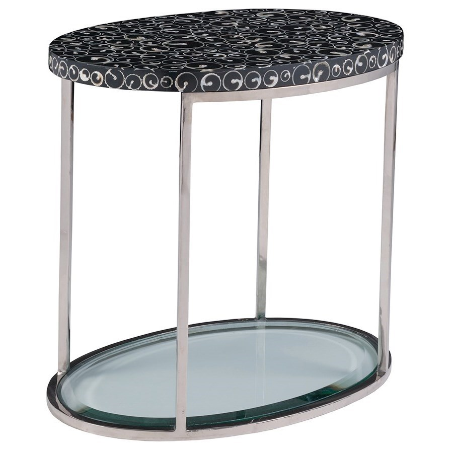 Mariana Oval Spot Table by Artistica at Baer's Furniture