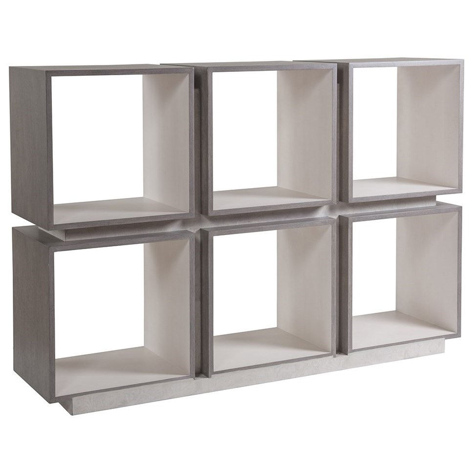 Mercury Six-Cube Etagere by Artistica at Baer's Furniture