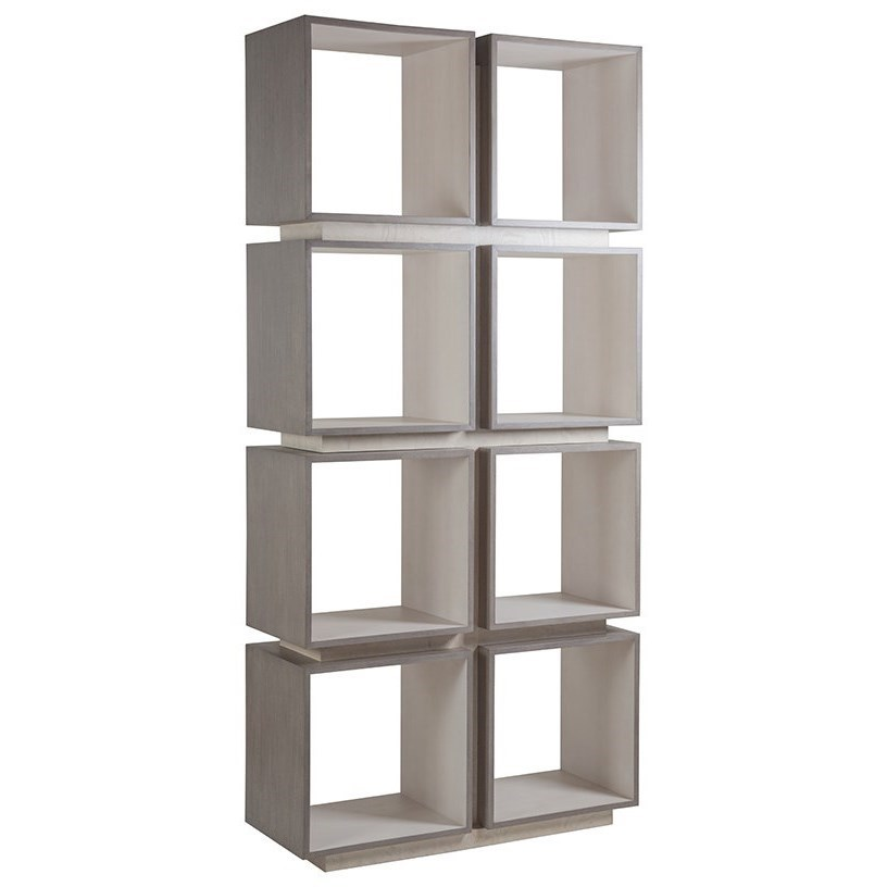 Mercury Eight-Cube Etagere by Artistica at Baer's Furniture