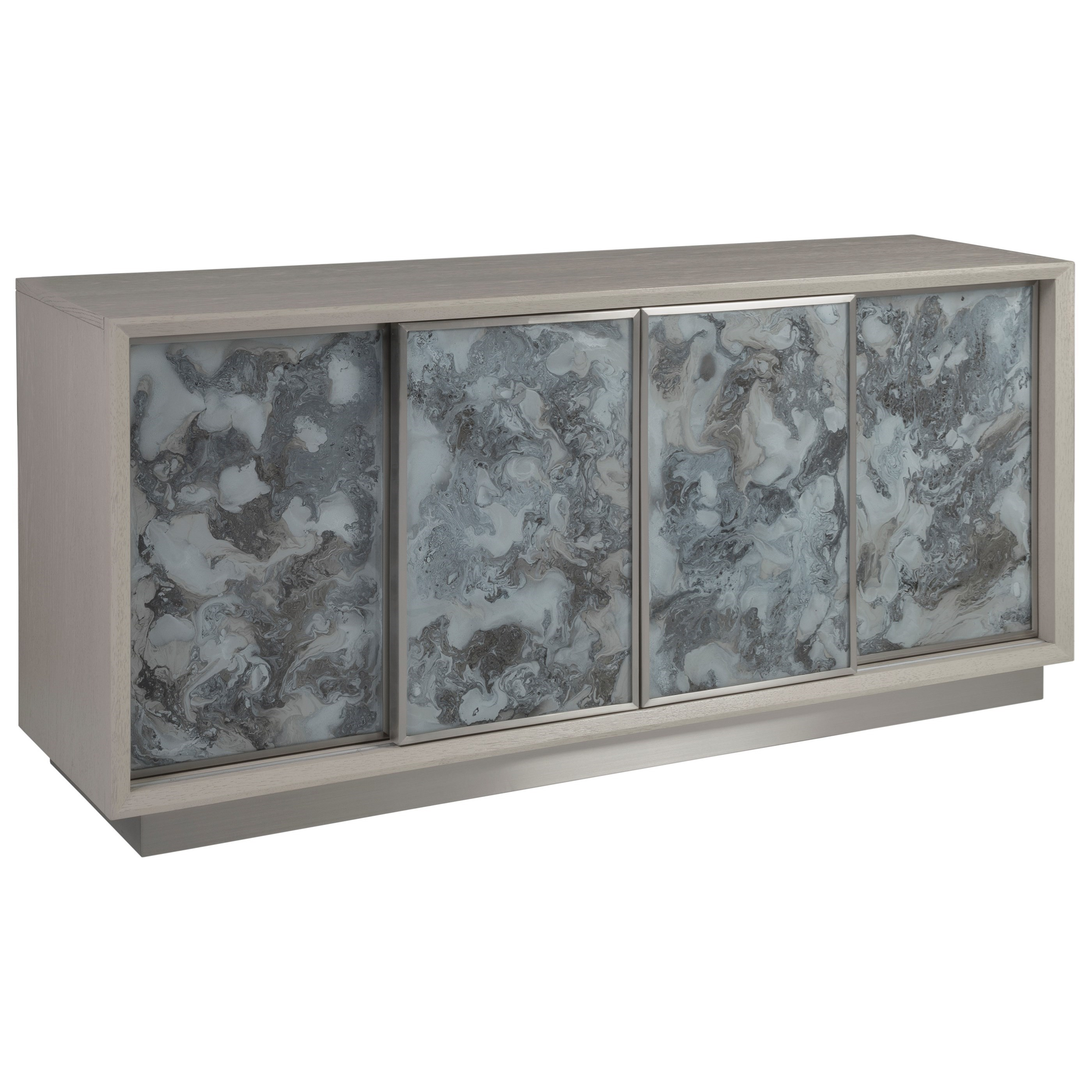 Metaphor Media Console by Artistica at Baer's Furniture