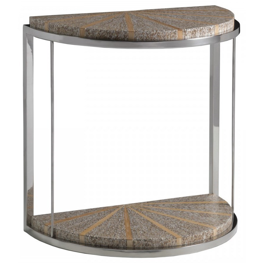 Montez Demilune Spot Table by Artistica at Baer's Furniture