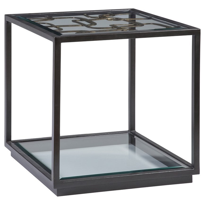 Moxie Moxie Square End Table by Artistica at Alison Craig Home Furnishings