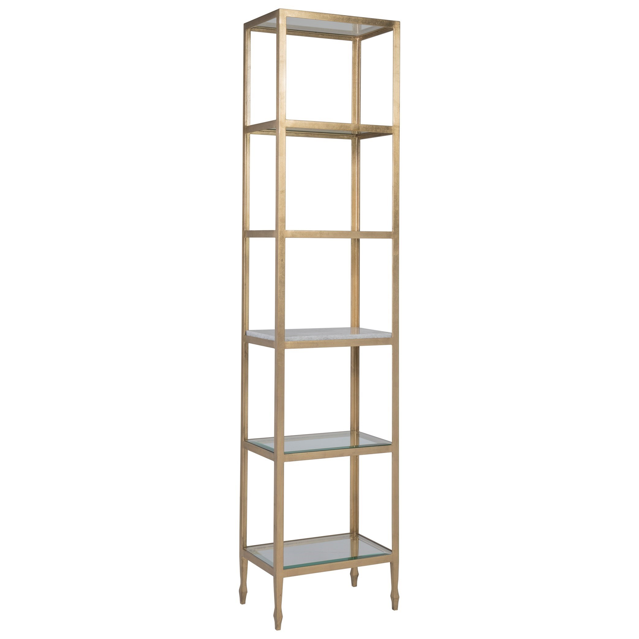 Sashay Slim Etagere by Artistica at Alison Craig Home Furnishings