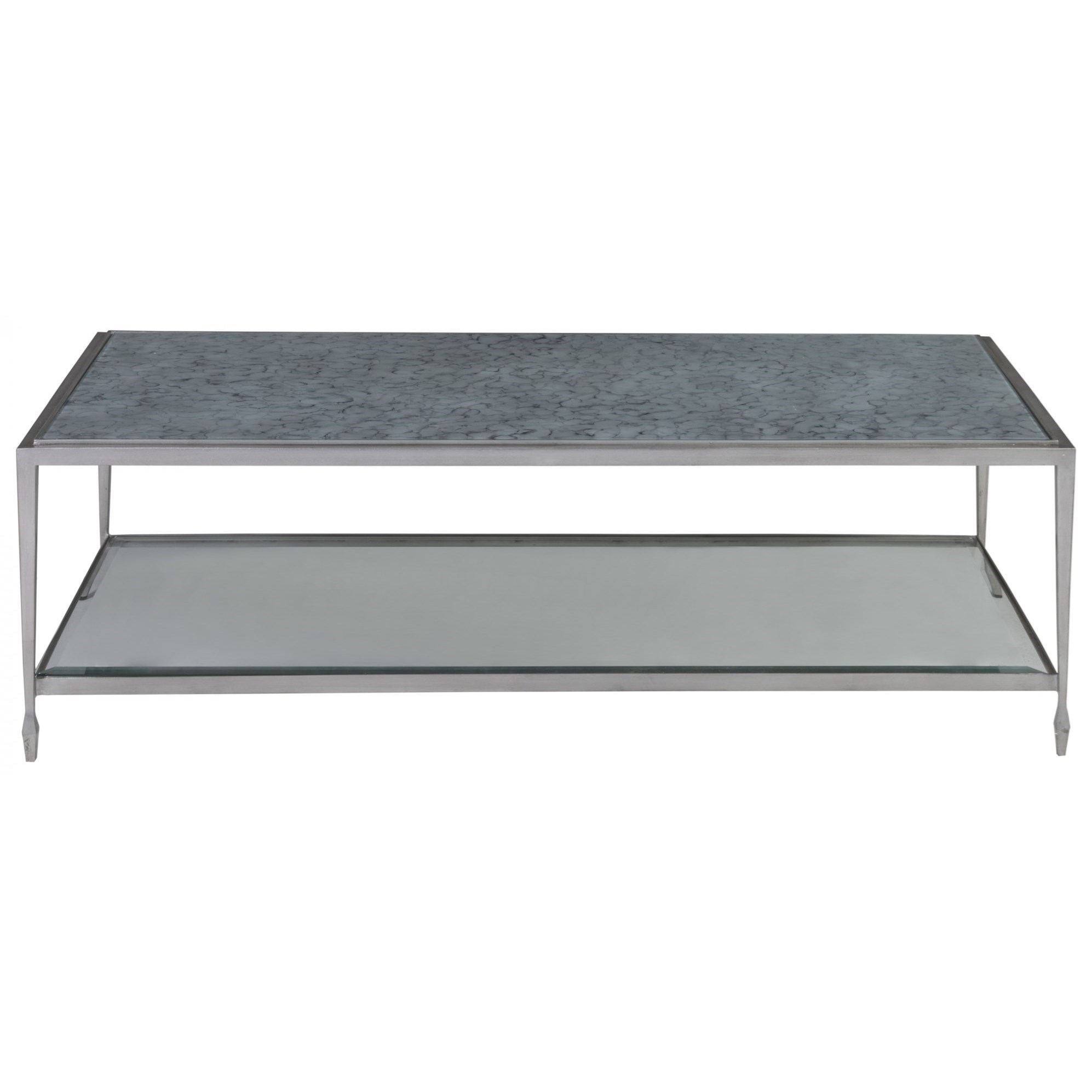 Sashay Rectangular Cocktail Table by Artistica at Baer's Furniture