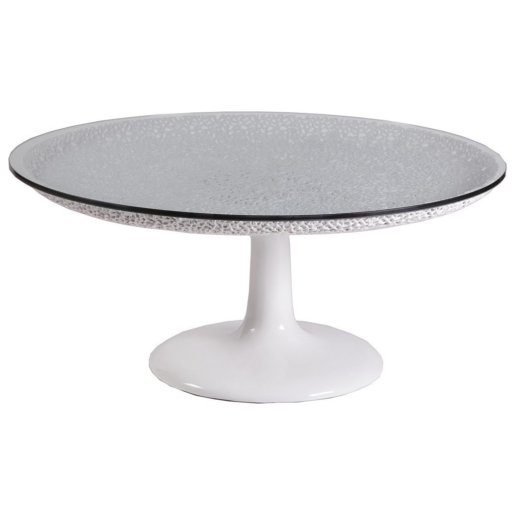 Seascape Seascape Round Cocktail Table by Artistica at Baer's Furniture