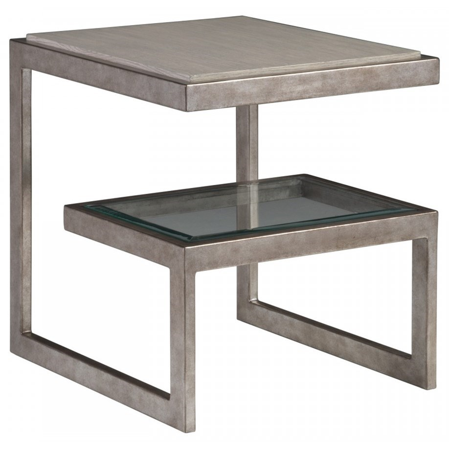 Soiree Rectangular End Table by Artistica at Baer's Furniture