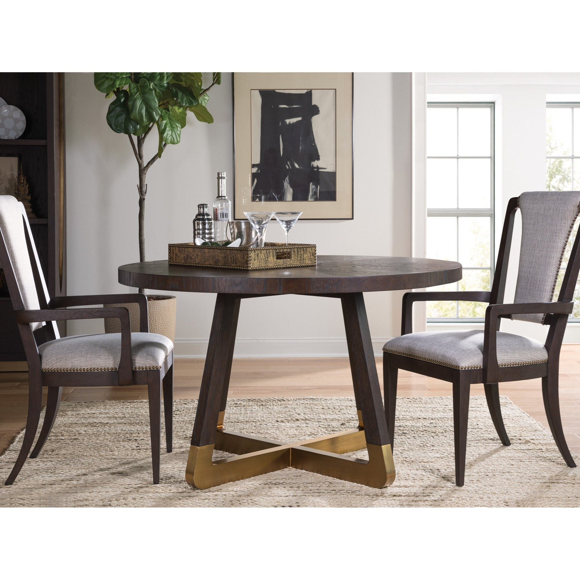 Verbatim 3-Piece Table & Chair Set by Artistica at Baer's Furniture