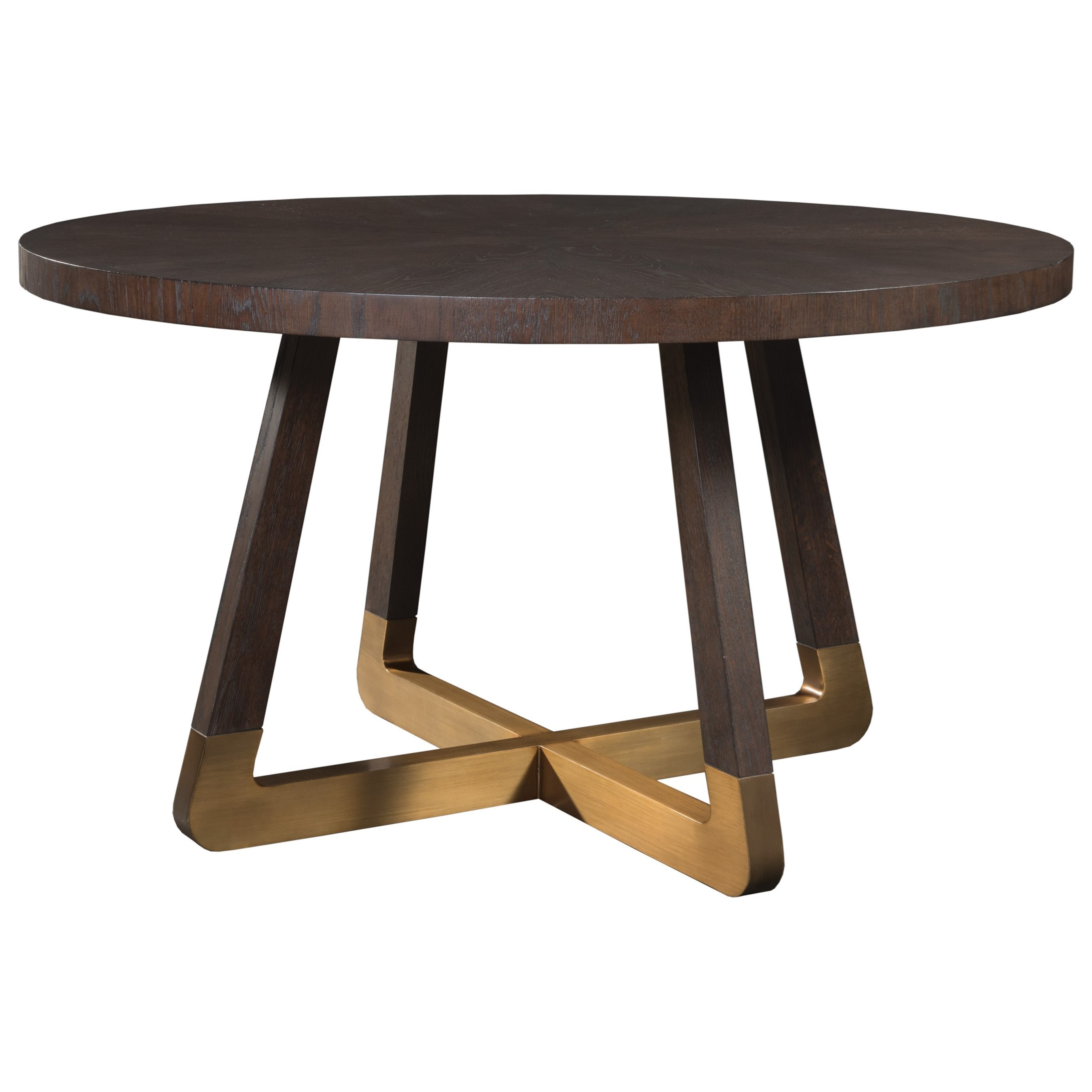 Verbatim Round Dining Table by Artistica at Alison Craig Home Furnishings