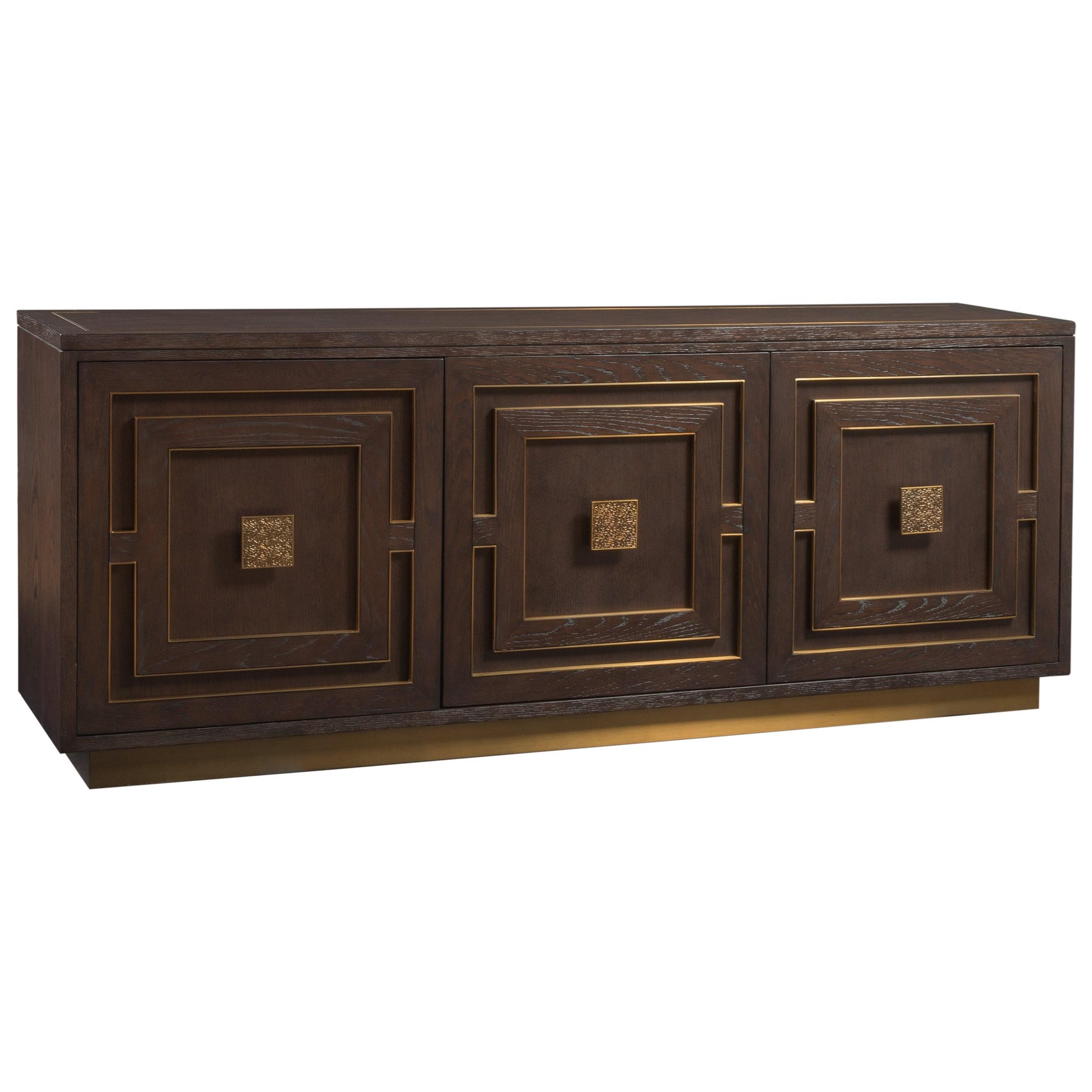 Verbatim Media Console by Artistica at Baer's Furniture