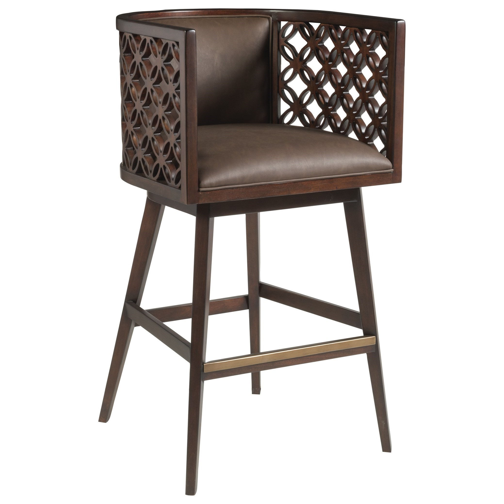 Vivace Swivel Barstool by Artistica at Sprintz Furniture