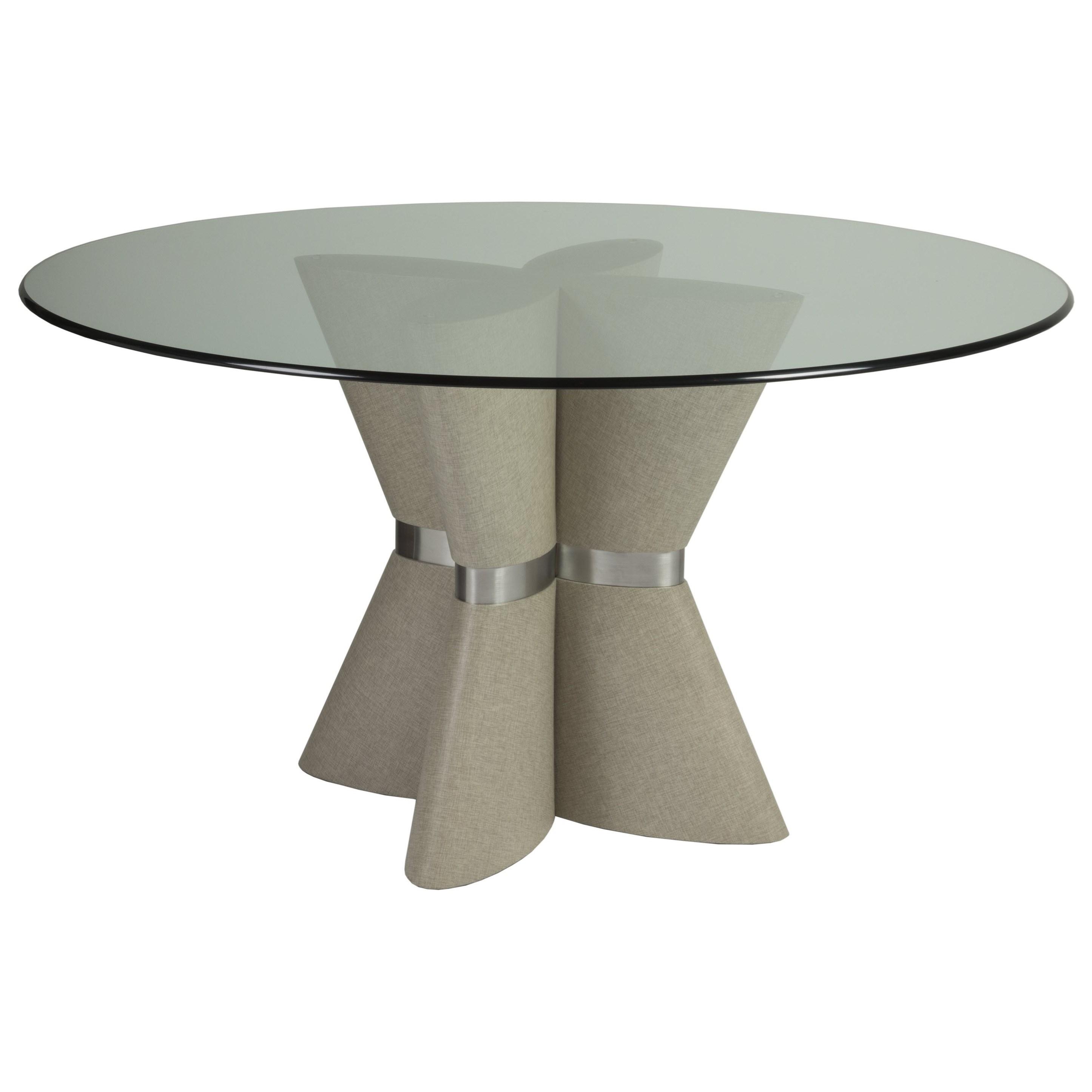 Zeitgeist Linen Dining Table by Artistica at Sprintz Furniture