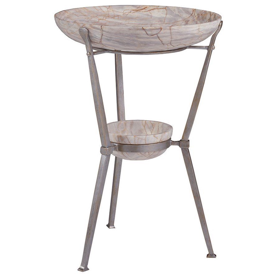 Zorba Round Spot Table by Artistica at Baer's Furniture