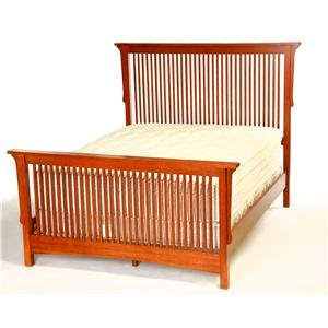 Arts & Crafts Industries Mission  Tall Queen Bed
