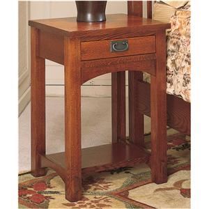 Arts & Crafts Industries Mission  Small Night Stand