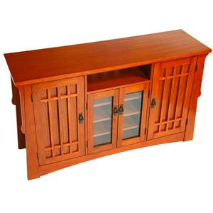 """Arts & Crafts Industries Mission  60"""" TV Stand"""