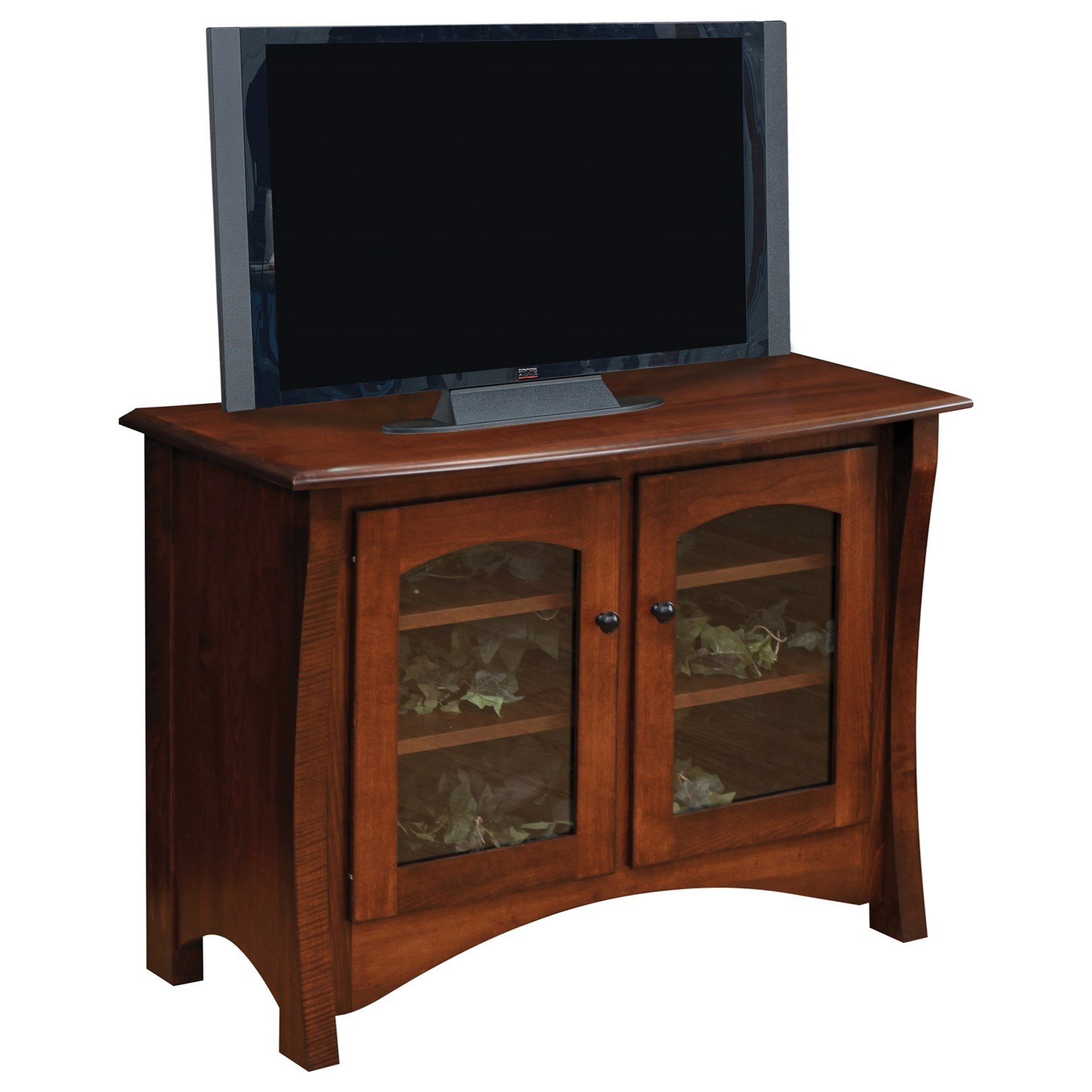 """Master 40"""" Customizable TV Stand by Ashery Oak at Saugerties Furniture Mart"""