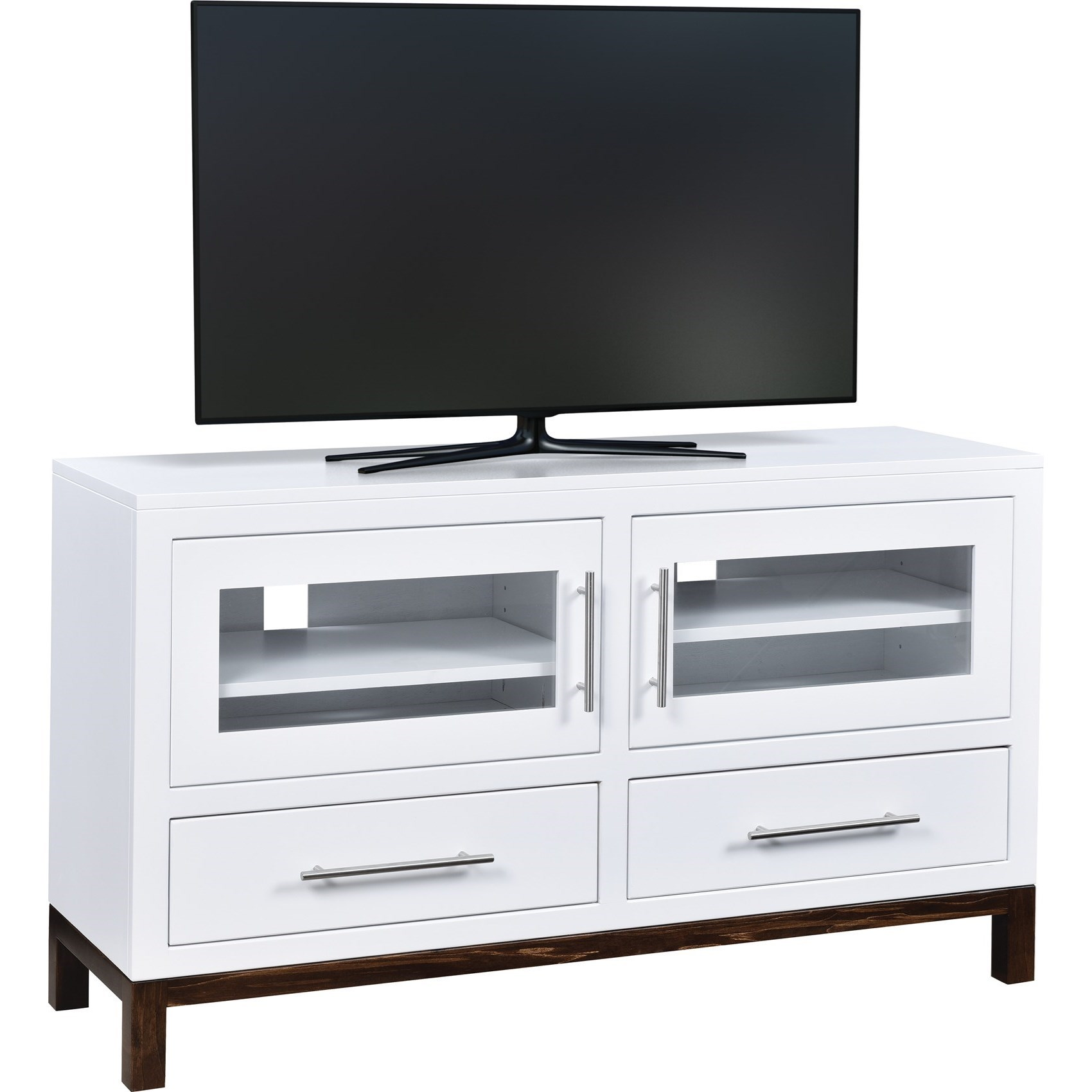 """Vienna Customizable 50"""" TV Stand by Ashery Oak at Saugerties Furniture Mart"""