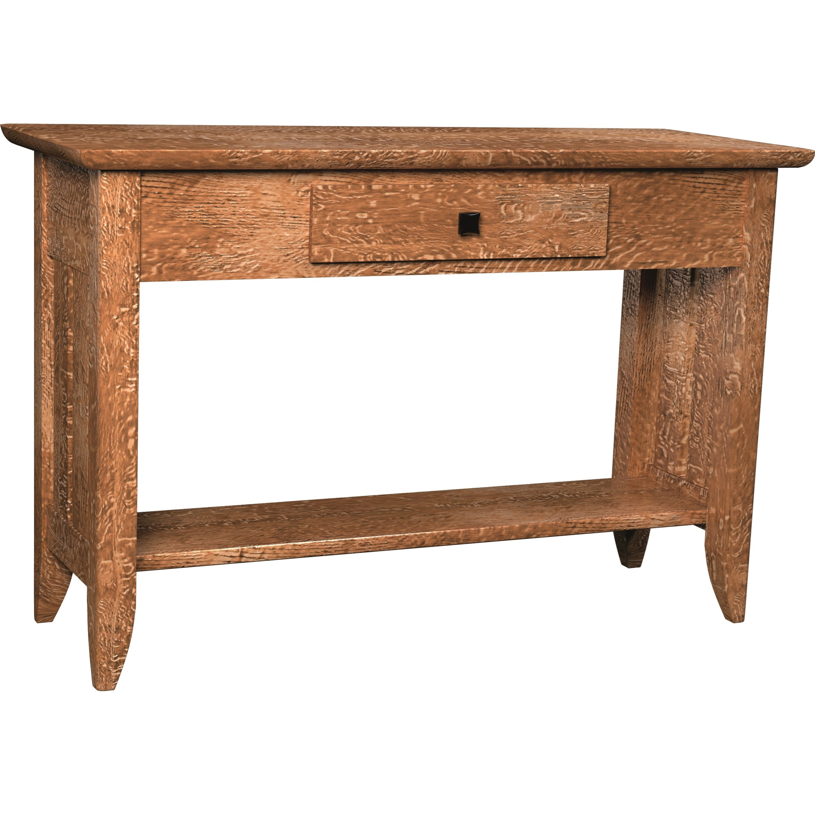 Austin w/ Slats Sofa Table by Ashery Woodworking at Saugerties Furniture Mart
