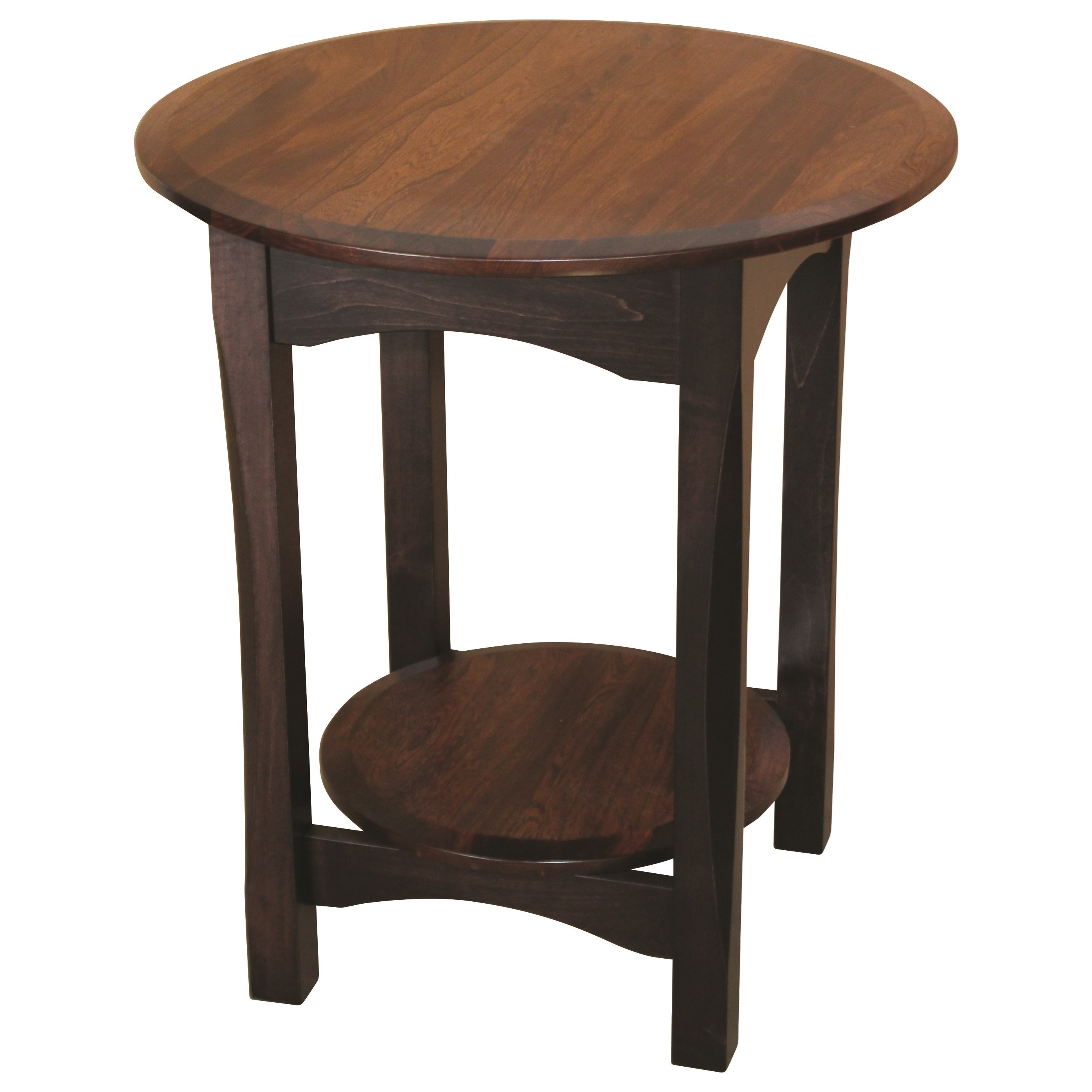 Bennett Lamp Table by Ashery Woodworking at Saugerties Furniture Mart