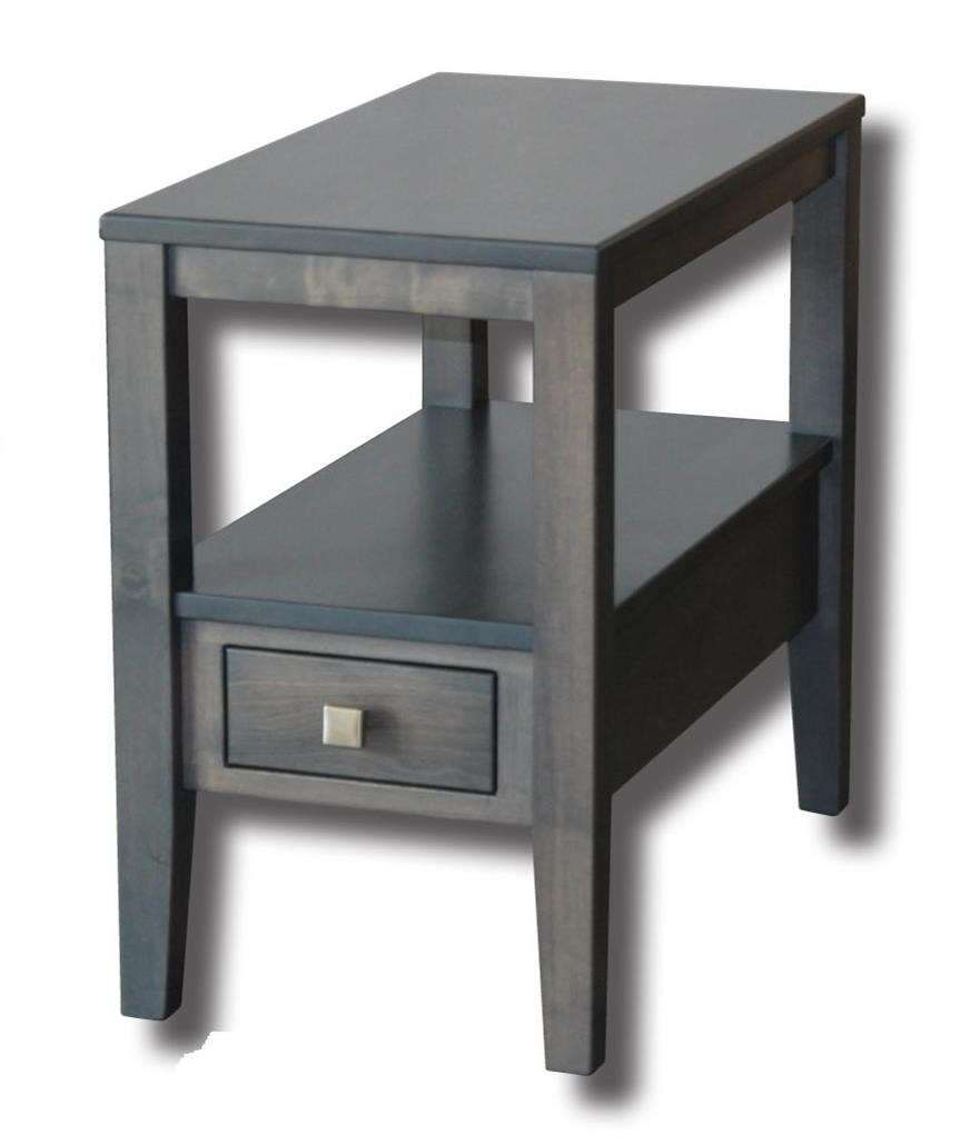 """Century Style Customizable Solid Wood 18"""" End Table by Ashery Woodworking at Saugerties Furniture Mart"""