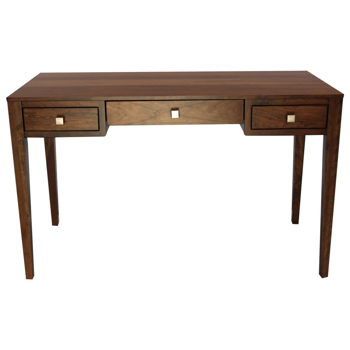 Century Style Customizable Solid Wood Library Table by Ashery Woodworking at Saugerties Furniture Mart
