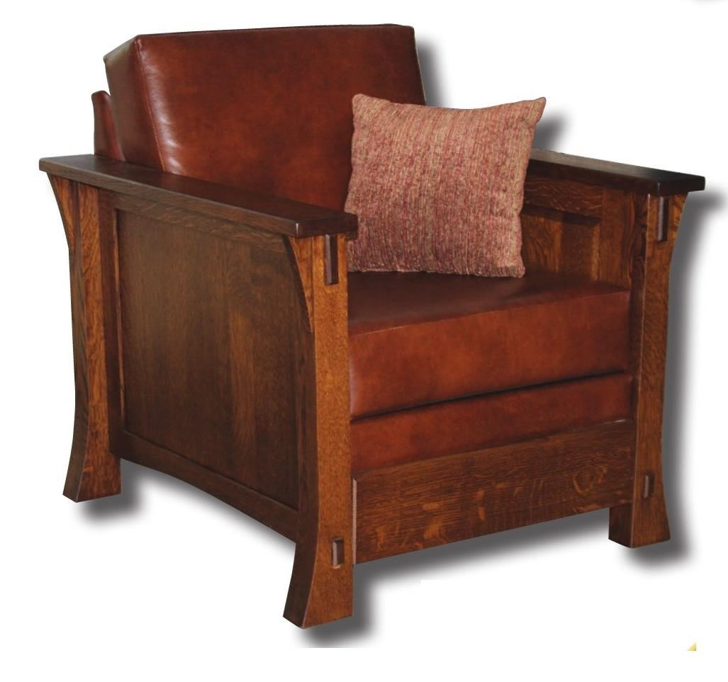 Dutch Style Customizable Solid Wood Upholstered Chair by Ashery Woodworking at Saugerties Furniture Mart