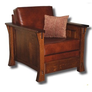 Customizable Solid Wood Upholstered Chair