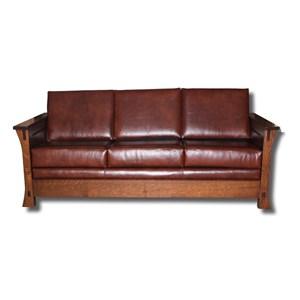 Customizable Solid Wood Sofa