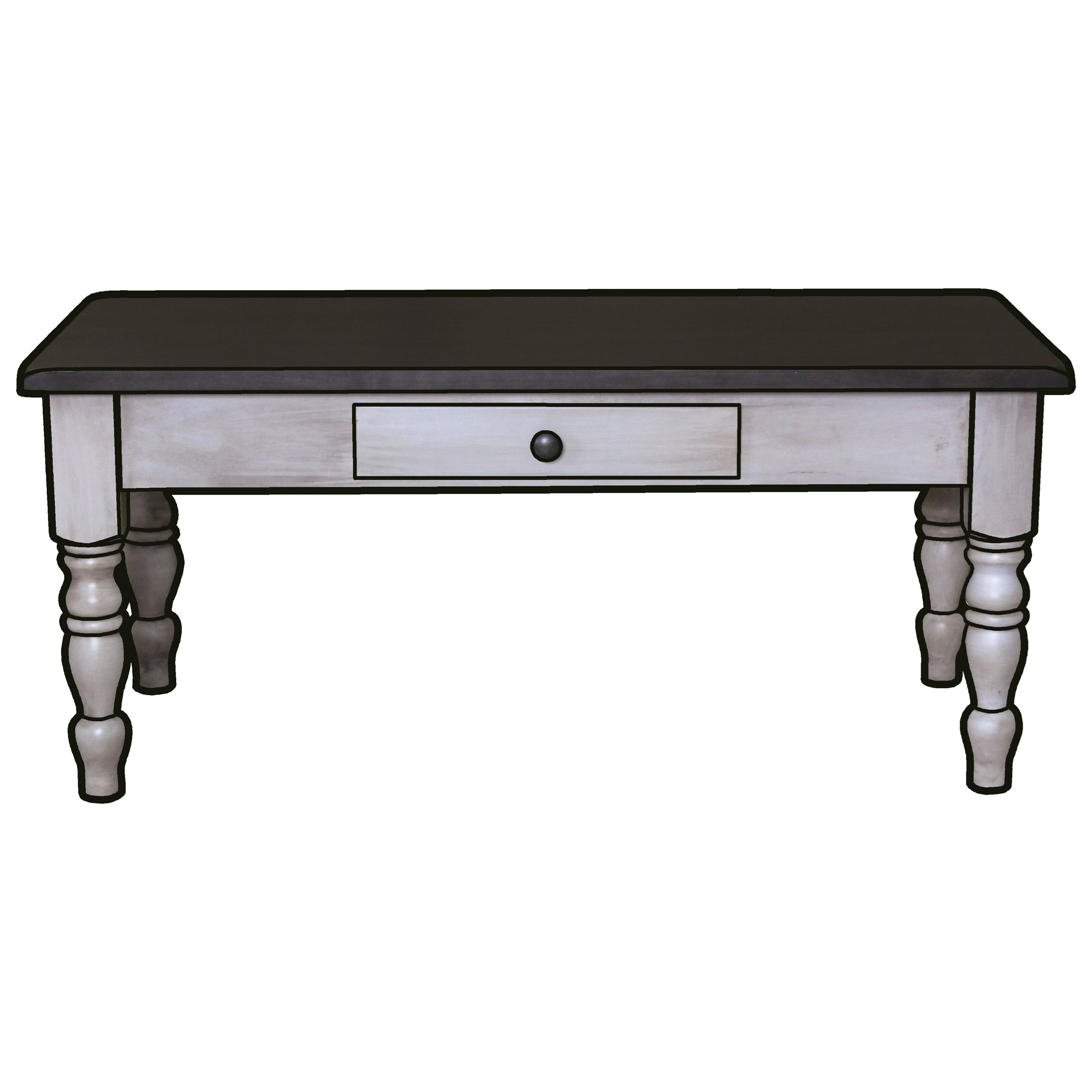 Hartland Coffee Table by Ashery Woodworking at Saugerties Furniture Mart