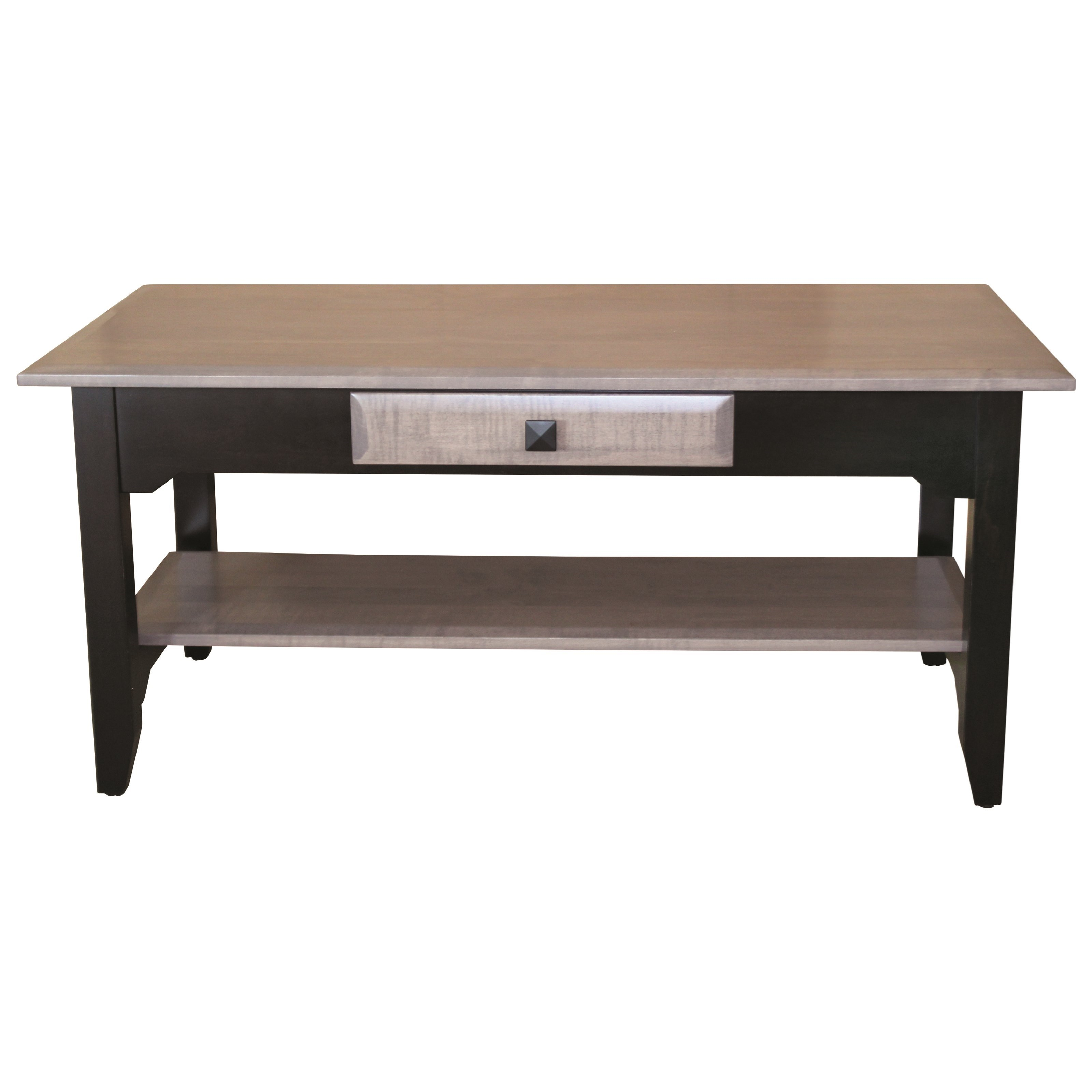 Iris Coffee Table by Ashery Woodworking at Saugerties Furniture Mart