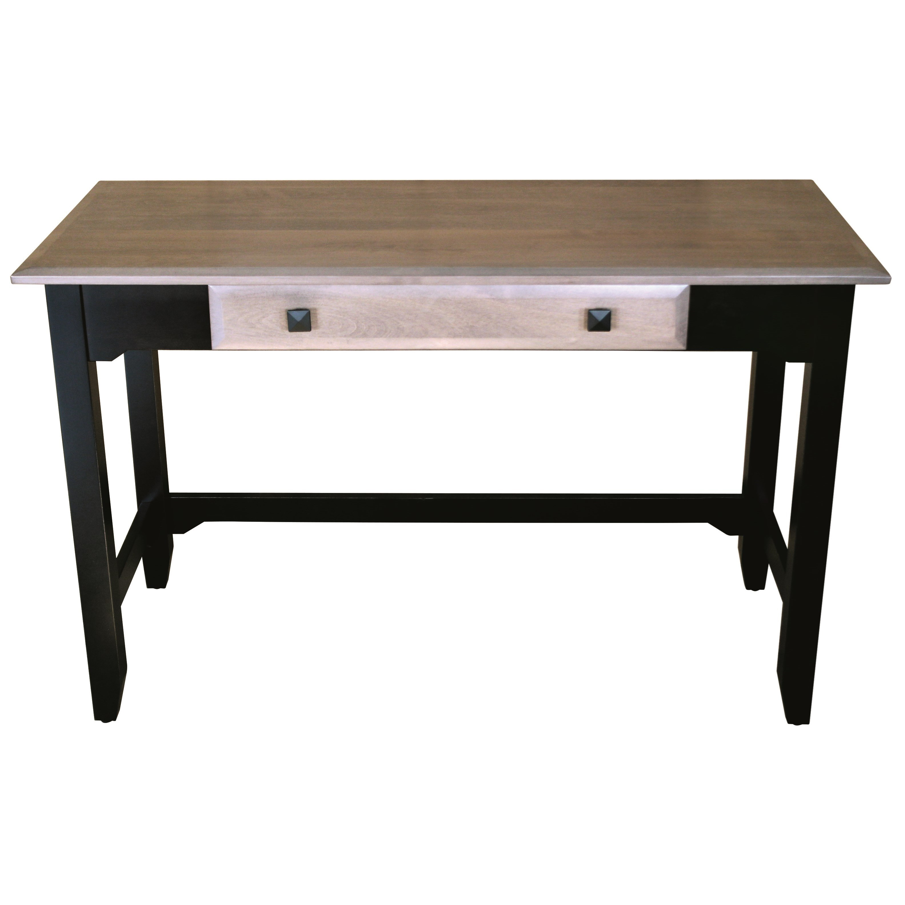 Iris Table Desk by Ashery Woodworking at Saugerties Furniture Mart
