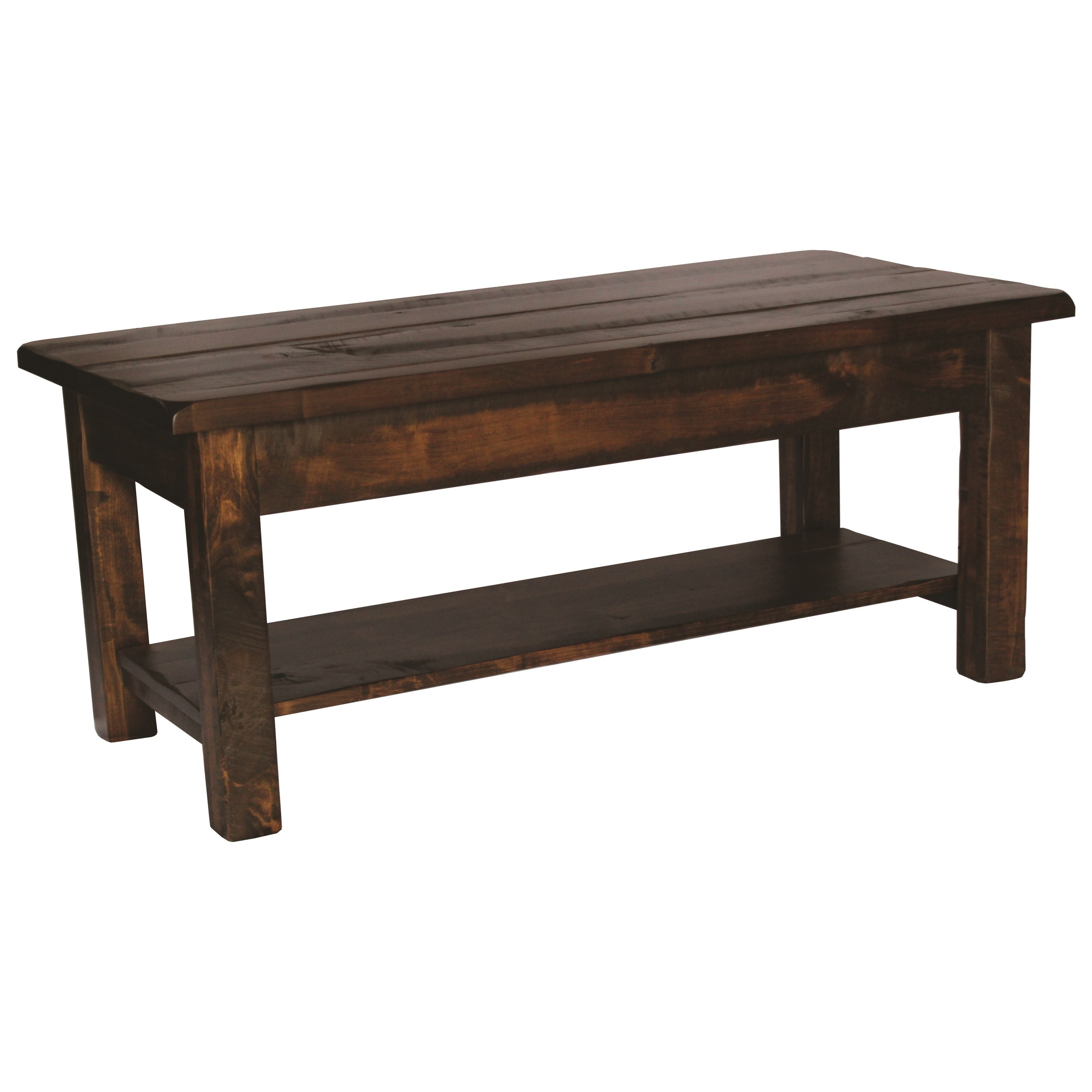 Milltown Coffee Table by Ashery Woodworking at Saugerties Furniture Mart