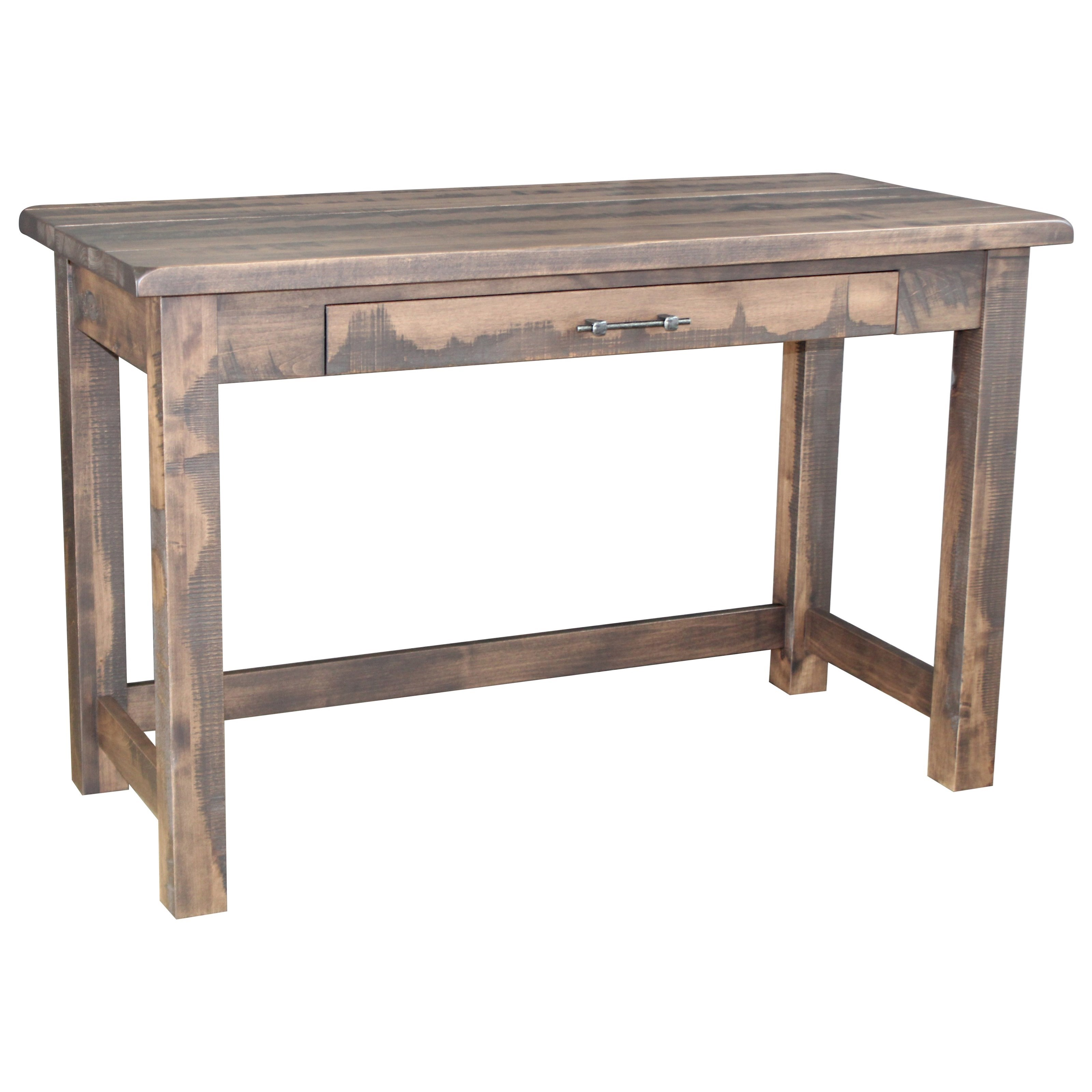 Milltown Library Table by Ashery Woodworking at Saugerties Furniture Mart