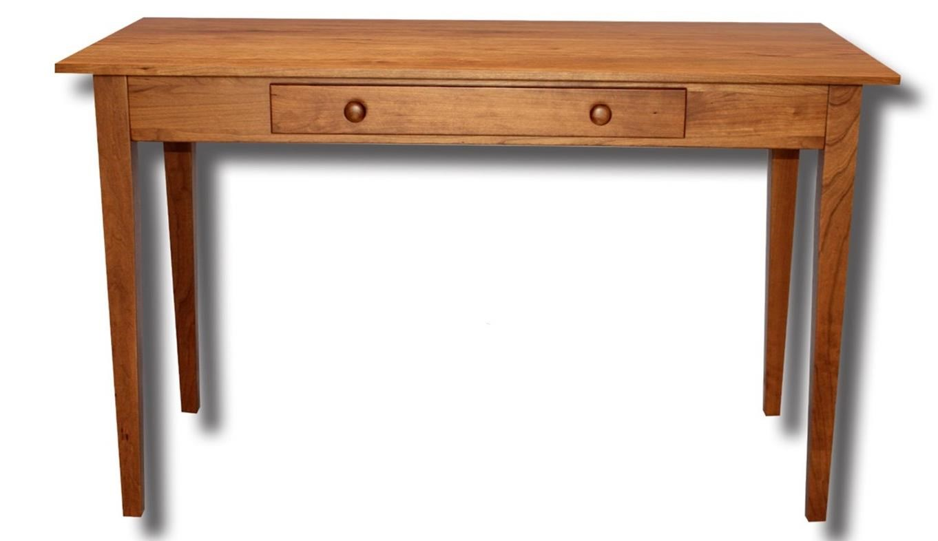 Shaker Shelf Library Table by Ashery Woodworking at Saugerties Furniture Mart