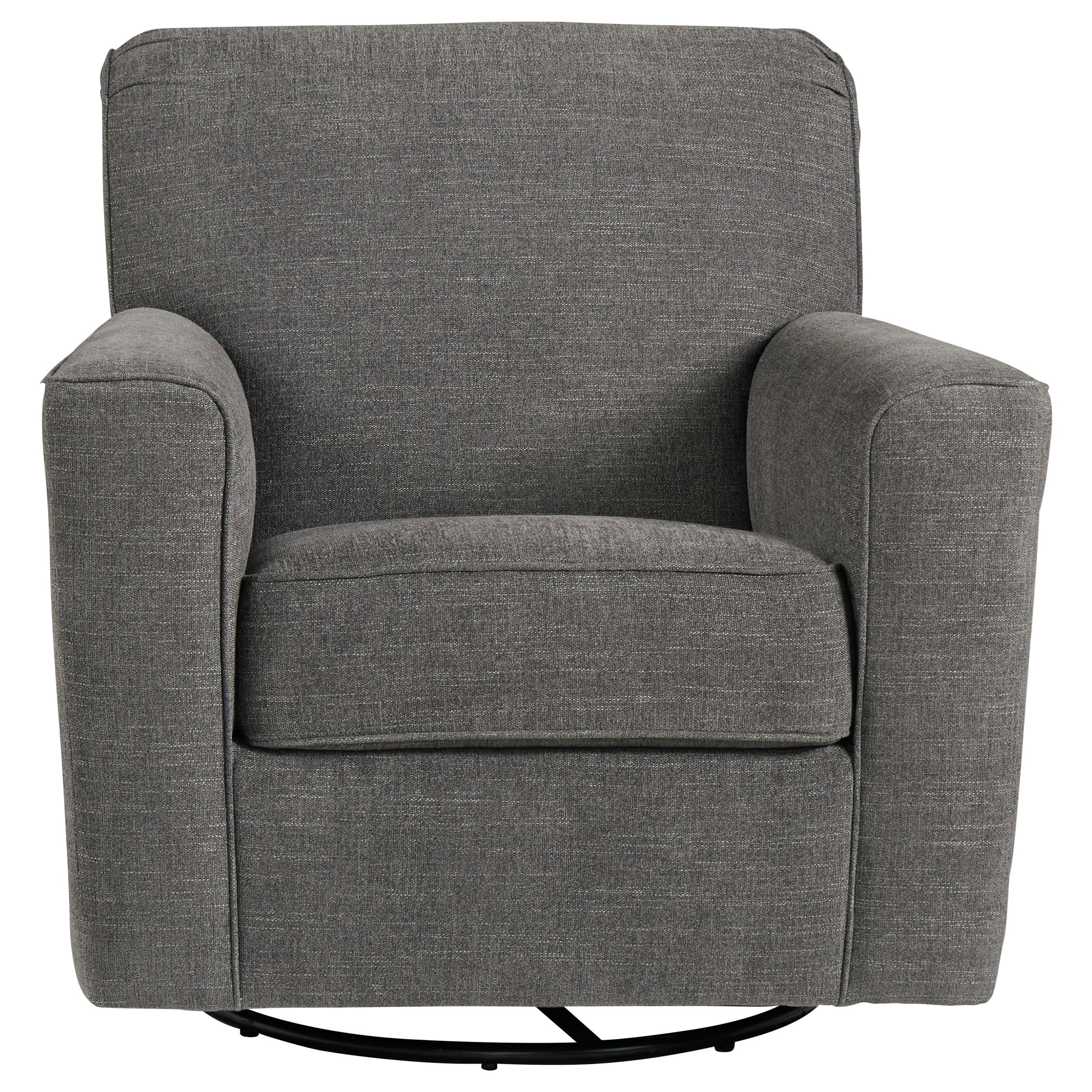 Alcona Swivel Glider Accent Chair by Ashley Furniture at Lapeer Furniture & Mattress Center