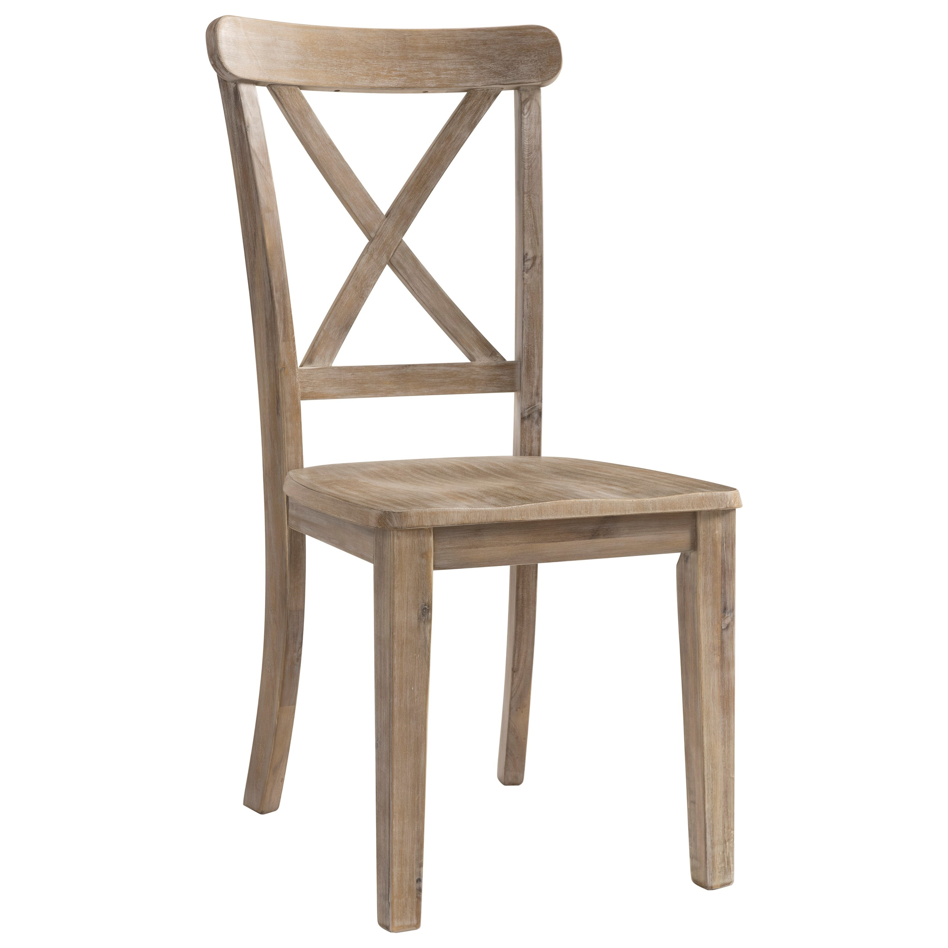 Ambrosh Dining Side Chair by Ashley Furniture at HomeWorld Furniture