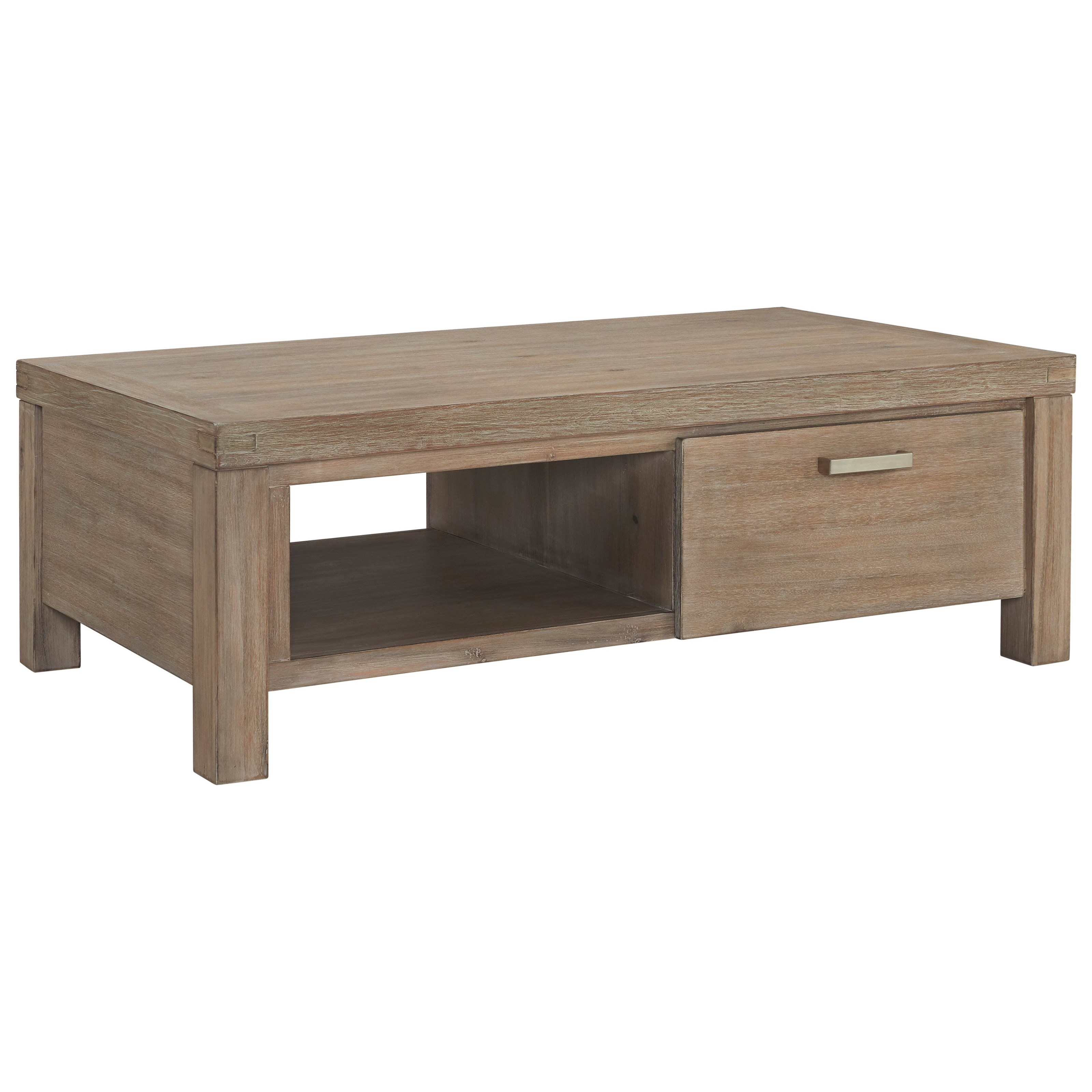 Ambrosh Cocktail Table by Ashley Furniture at HomeWorld Furniture
