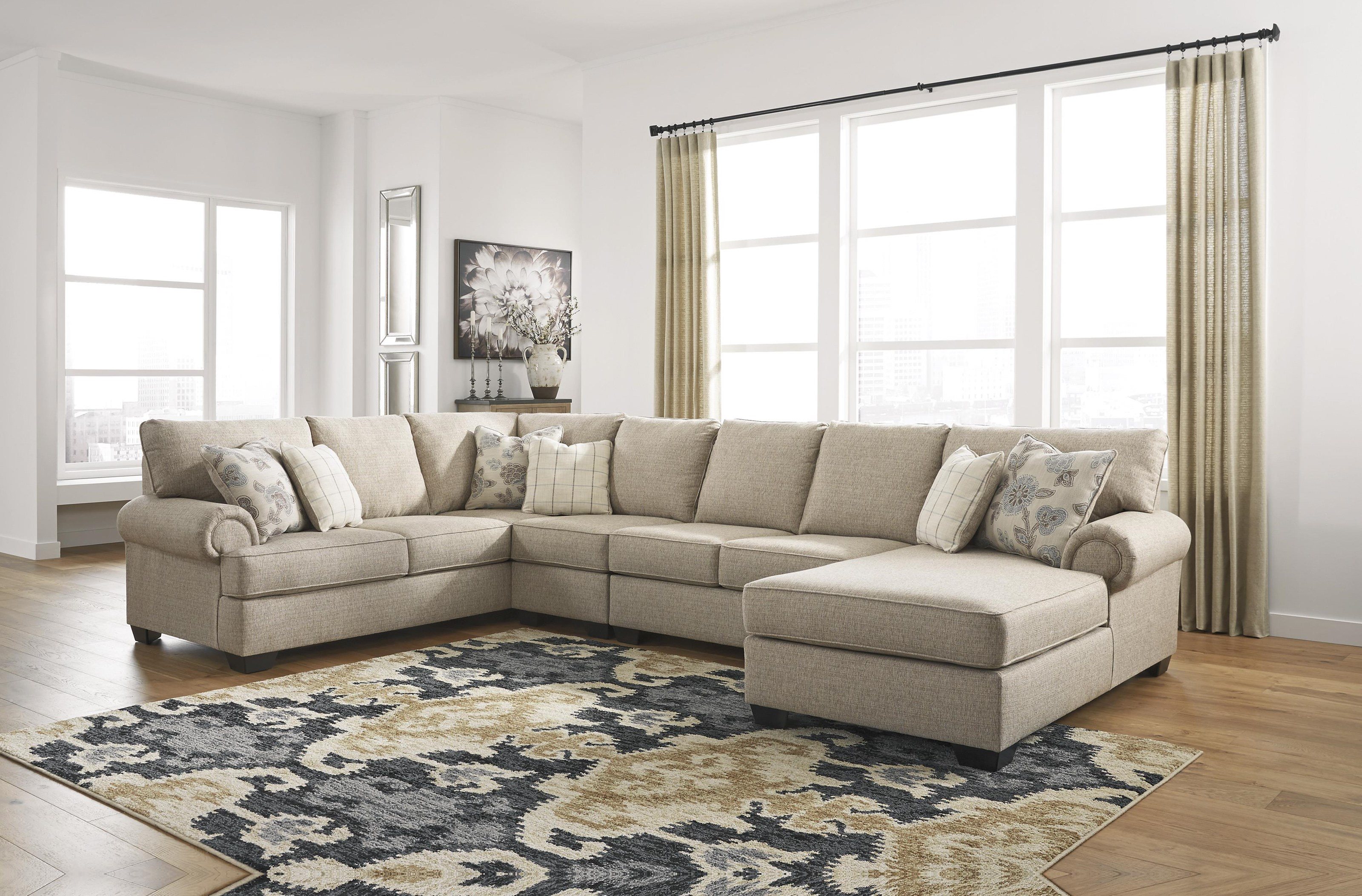 Baceno 4 Piece Sectional Chaise Sofa by Ashley Furniture at Sam Levitz Outlet