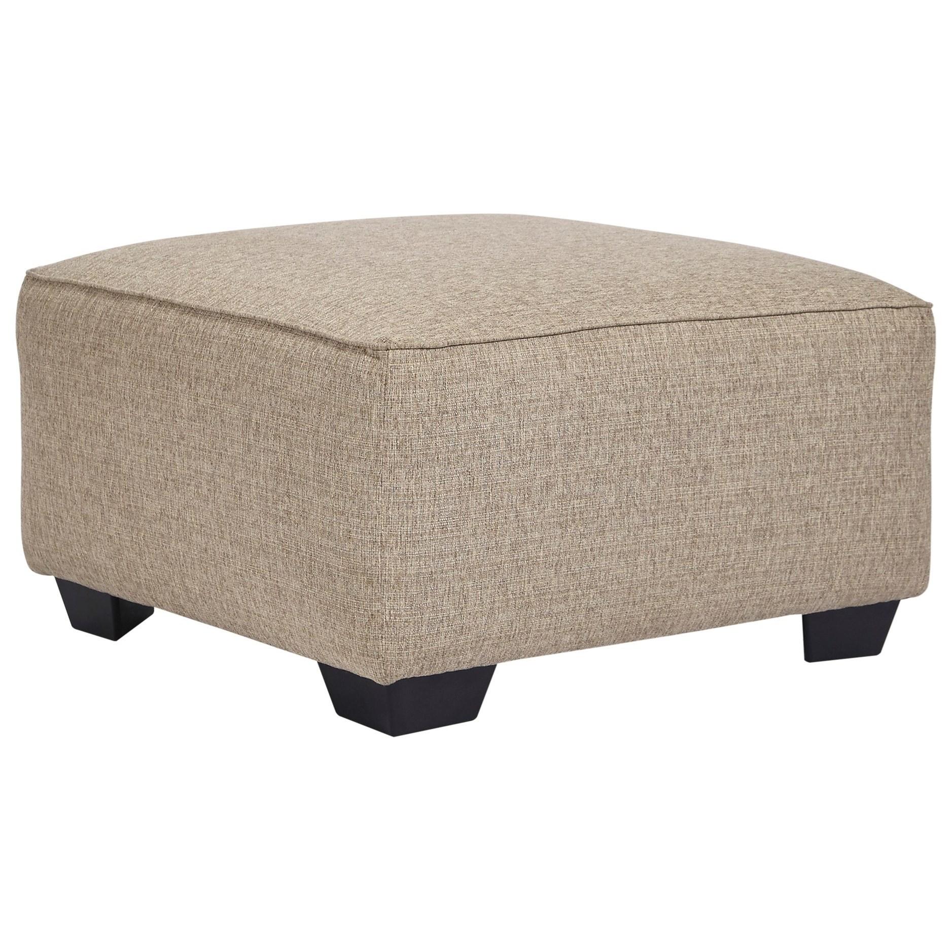 Baceno Oversized Accent Ottoman by Ashley Furniture at Houston's Yuma Furniture