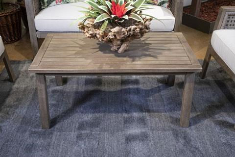 Barn Cove Outdoor Coffee Table by Signature Design by Ashley at Sam Levitz Furniture