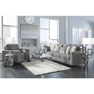 Fog Sofa and Chair Set