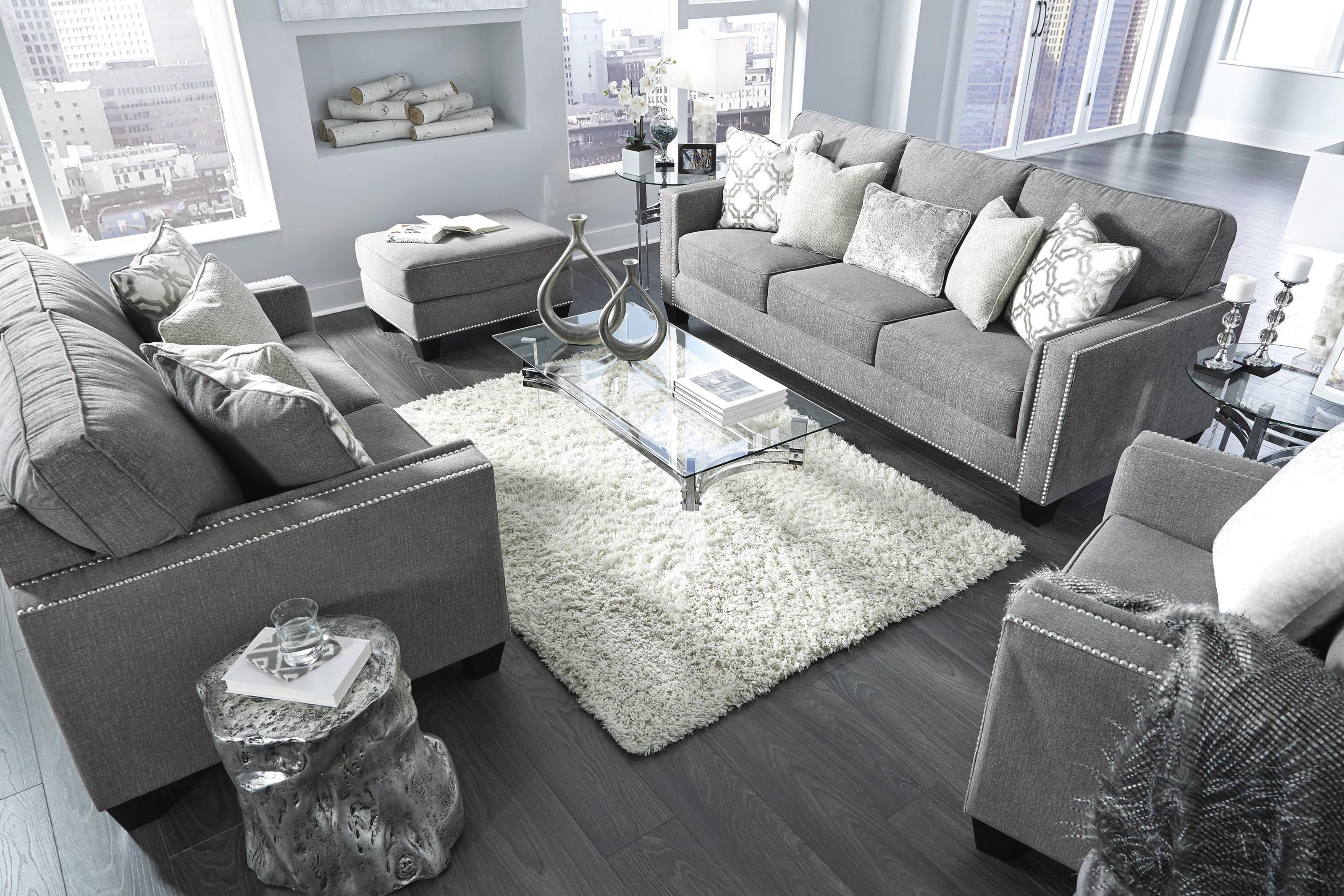 Barrali Sofa, Chair and Ottoman Set by Ashley Furniture at Sam Levitz Furniture